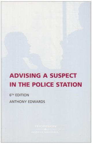 9780421946804: Advising a Suspect in the Police Station