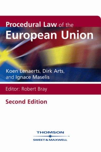 9780421947009: Procedural Law of the European Union