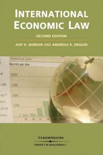 9780421947207: International Economic Law