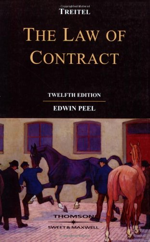 9780421948402: Treitel on the Law of Contract