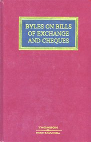 9780421952805: Byles on Bills of Exchange and Cheques