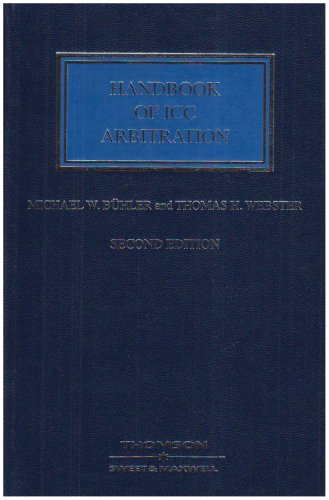 9780421954502: Handbook of ICC Arbitration: Commentary, Precedents, Materials