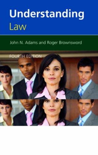 9780421960602: Understanding Law