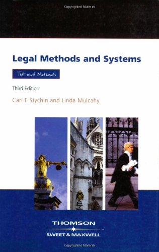 9780421965409: Legal Method and Systems: Text & Materials