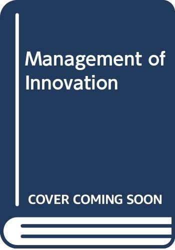 9780422700801: Management of Innovation