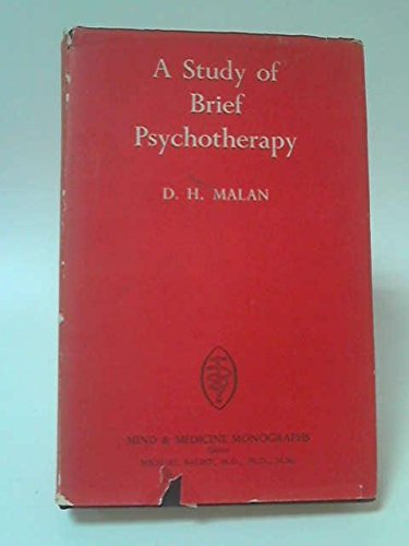 9780422706407: Study of Brief Psychotherapy (Mind.& Medicine Monograph)