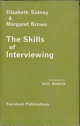 9780422708500: Skills of Interviewing