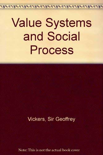 9780422719506: Value systems and social process