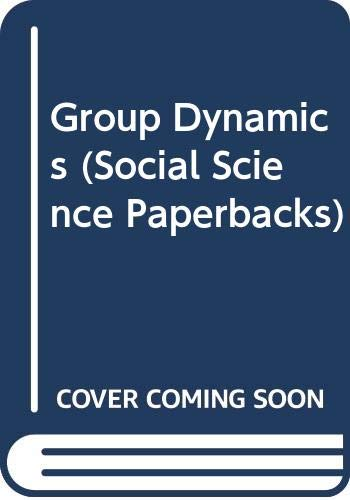 Group Dynamics: Research and Theory: Cartwright, Dorwin &