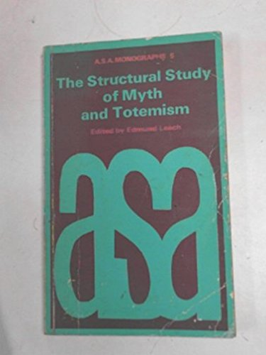 9780422725309: Structural Study of Myth and Totemism
