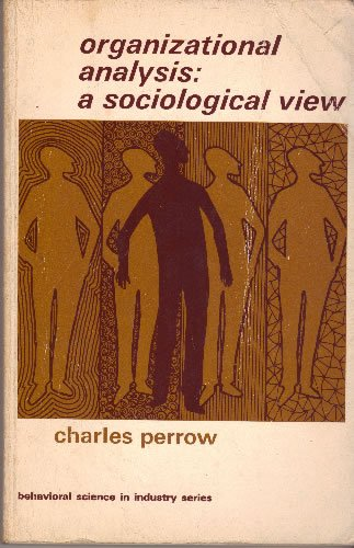 9780422753104: Organizational Analysis: A Sociological View (Social Science Paperbacks)