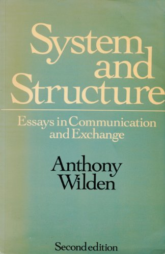 9780422767101: System and Structure: Essays in Communication and Exchange (Social Science Paperbacks)