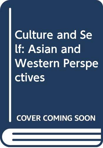 9780422791403: Culture and Self: Asian and Western Perspectives