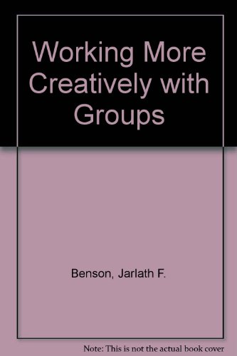 9780422795708: Working More Creatively with Groups