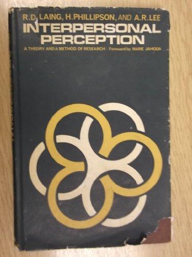 9780422984904: Interpersonal Perception