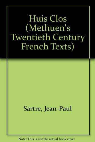 9780423515800: Huis Clos (Methuen's Twentieth Century French Texts)