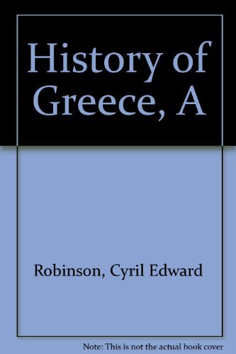 9780423712902: History of Greece