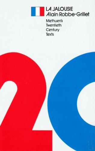 9780423769609: Jealousy (20th Century Texts, French)