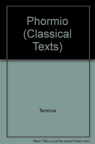 9780423786309: Phormio (Classical Texts)