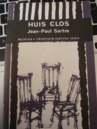9780423828009: Huis Clos (20th Century Texts, French)