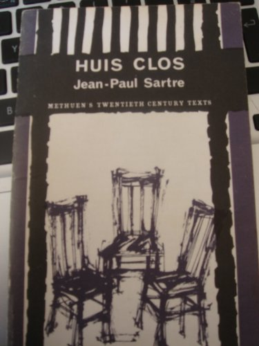 9780423828009: Huis Clos (20th Century Texts, French)