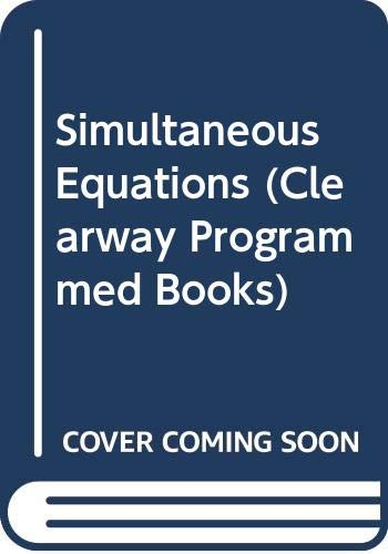Simultaneous Equations (Clearway Programmed Books) (9780423847109) by K. Austwick