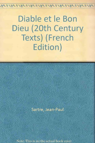 9780423859904: Diable et le Bon Dieu (20th Century Texts) (English and French Edition)