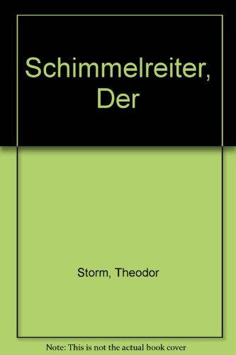 9780423880908: Schimmelreiter, Der (German Edition)