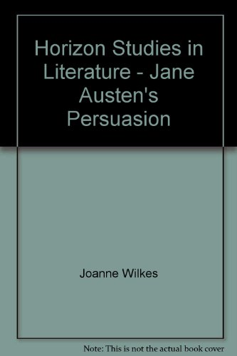 9780424001722: Horizon Studies in Literature - Jane Austen's Persuasion
