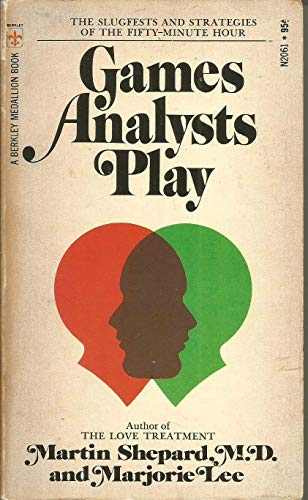 9780425020616: Games analysts play (A Berkley medallion book)