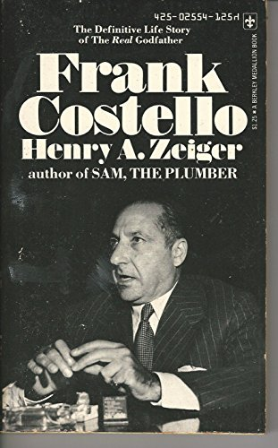 9780425025543: FRANK COSTELLO the Definitive Life Story of the Real Godfather