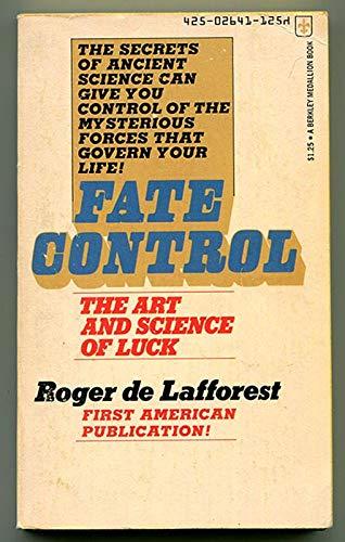 9780425026410: Fate Control