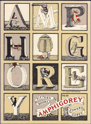 9780425028674: Amphigorey: Fifteen Books by Edward Gorey