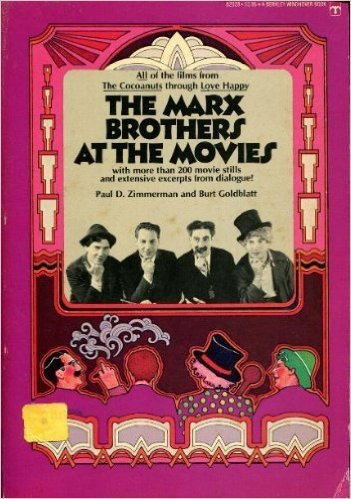 The Marx Brothers at the Movies (042502928X) by Paul D. Zimmerman; Burt Goldblatt