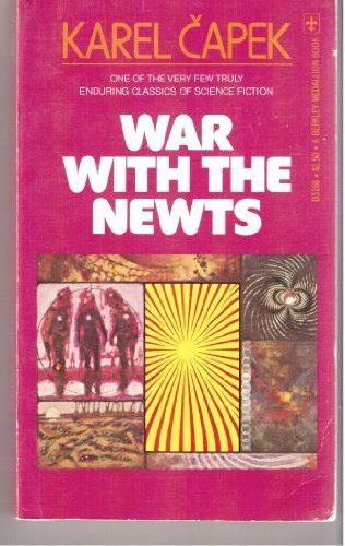 war with the newts critique Buy war with the newts (penguin modern classics) by karel capek (isbn: 9780141192703) from amazon's book store everyday low prices and free delivery on.