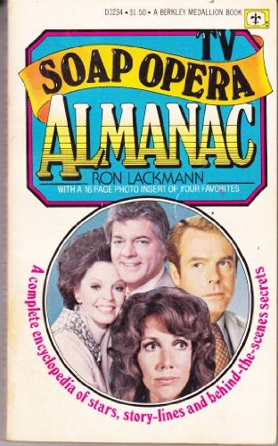 9780425032343: TV soap opera almanac (A Berkeley Medallion book)