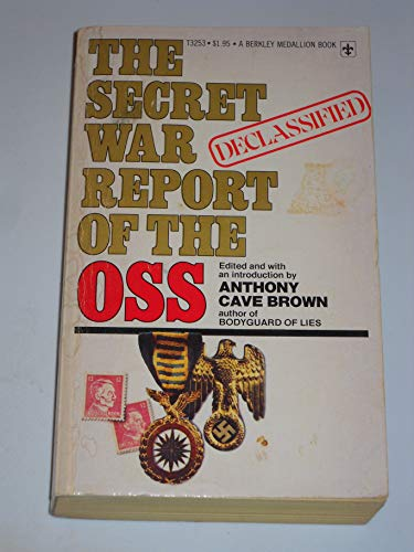 The Secret War Report of the OSS (0425032531) by Anthony Cave Brown