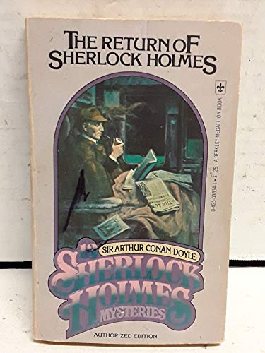 9780425033340: The Return of Sherlock Holmes