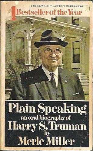 9780425035771: Plain Speaking