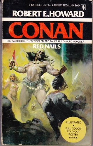 9780425036105: Red Nails (Conan) (The Authorized Edition)