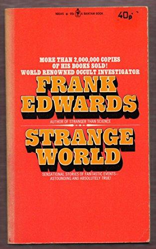 9780425038772: The strange world of Frank Edwards
