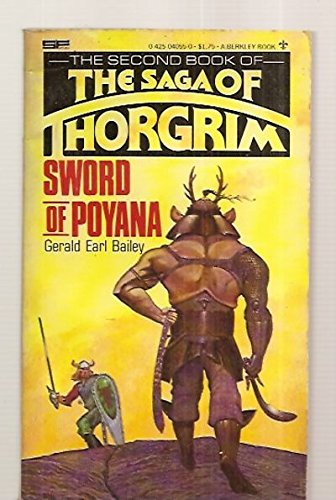 9780425040553: Sword Of Poyana (Book #2 of The Saga of Thorgrim)