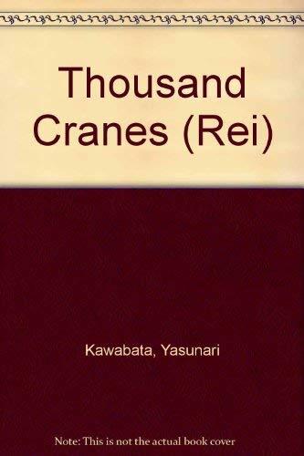 9780425043714: Thousand Cranes (Rei)