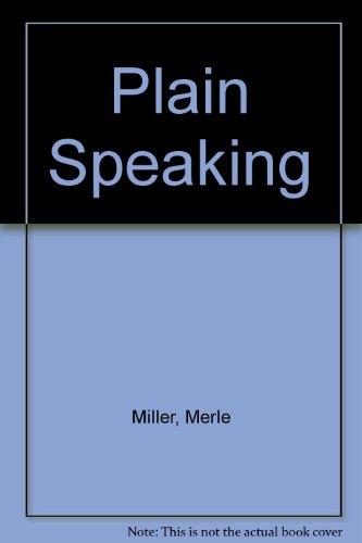 9780425045923: Plain Speaking