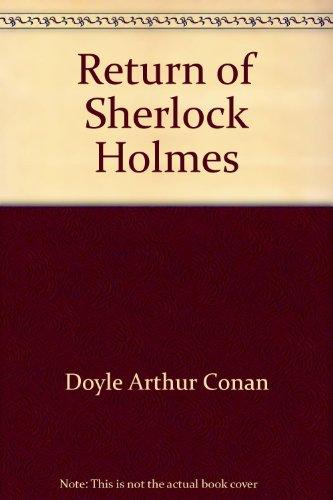 9780425048719: Return Of Sher Holmes