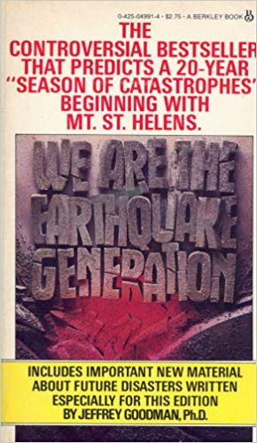 9780425049914: We Are The Earthquake Generation