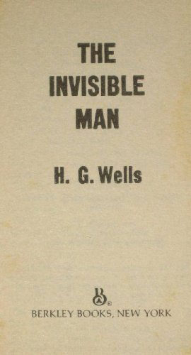 9780425053522: The Invisible Man