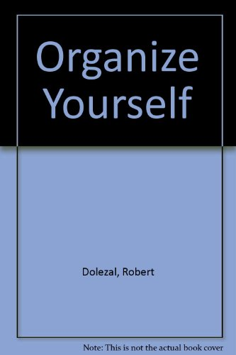 9780425056066: Organize Yourself