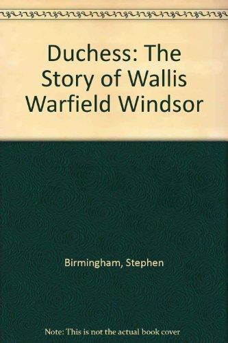 9780425056516: Duchess: The Story of Wallis Warfield Windsor