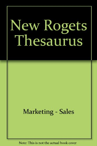 9780425057230: New Rogets Thesaurus